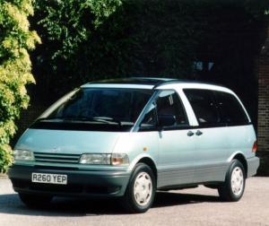 Toyota Previa Automatic (1990)